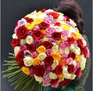 Buchet 151 trandafiri