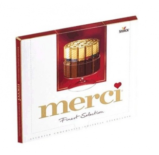 Cutie bomboane Merci Finest Selection 250g
